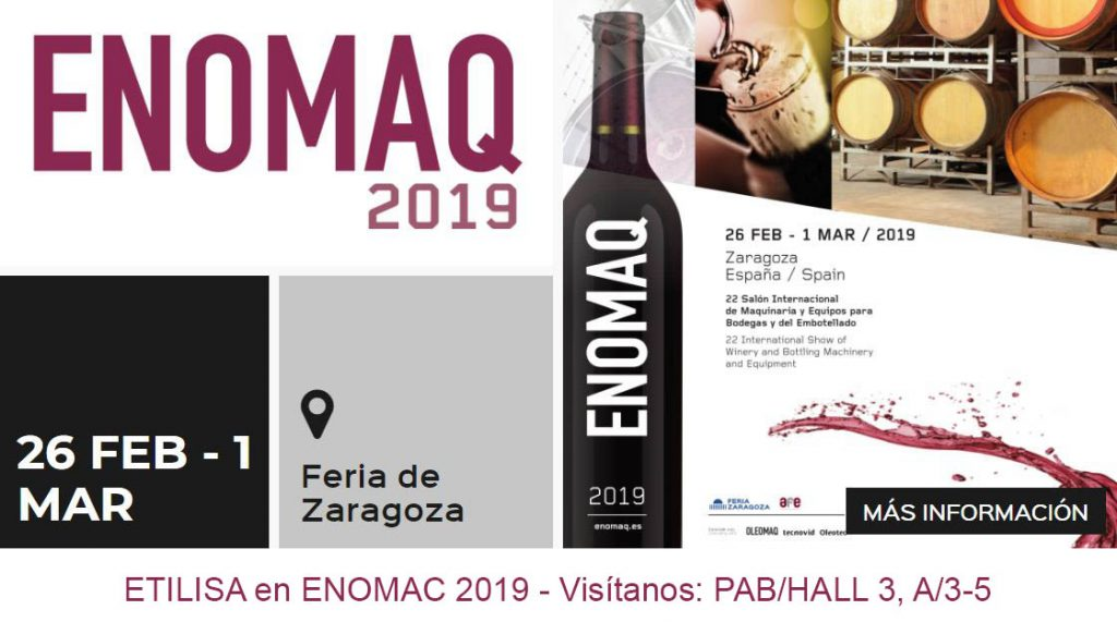Etilisa en Enomaq 2019